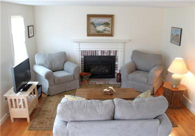 Chatham Cape Cod vacation rental - Updated Living Room  for Hosting Fun Get-Togethers