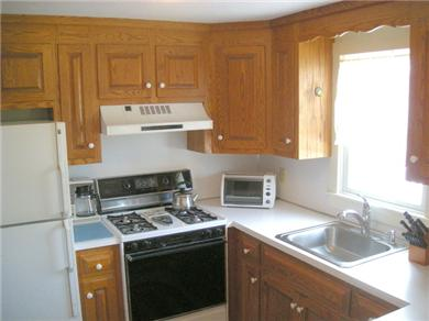 Chatham Cape Cod vacation rental - Fully Equipped Kitchen w/Gas Stove, Dishwasher & Counter Space