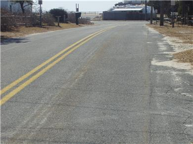 Dennisport Cape Cod vacation rental - Short walk to beach (entrance left of house)