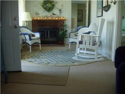 Dennisport Cape Cod vacation rental - Living room full view