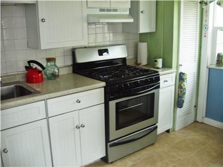 Dennisport Cape Cod vacation rental - New Gas Range in well stocked kitchen