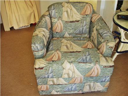 Dennisport Cape Cod vacation rental - Comfortable easy chair for TV viewing, reading or relaxing