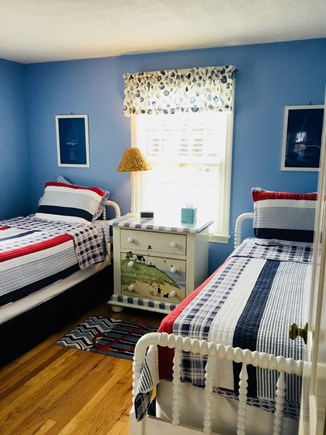 Harwich Cape Cod vacation rental - Twins with Nautical Decor, with new bedding and mattresses.
