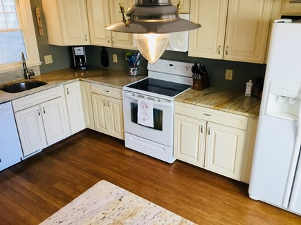 Harwich Cape Cod vacation rental - Brand new kitchen with glazed maple cabinets and island!