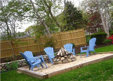 Harwich Cape Cod vacation rental - Enjoy a s'more around the firepit while gazing at the stars!