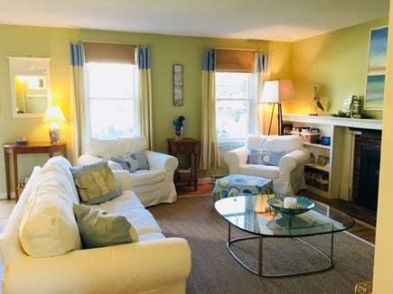 Harwich Cape Cod vacation rental - Pottery Barn furnished Living Room with Flat Sceen HD TV