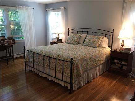 East Harwich Cape Cod vacation rental - The large first floor master bedroom suite
