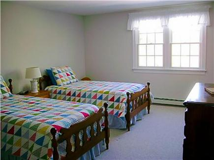 East Harwich Cape Cod vacation rental - A second bedroom, overlooking backyard and wildlife green space.