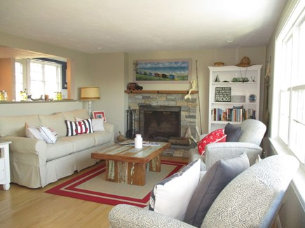 South Yarmouth Cape Cod vacation rental - Living Room