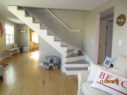 South Yarmouth Cape Cod vacation rental - Stairs to 2nd Floor
