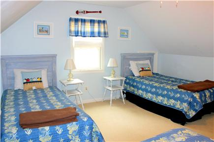 Eastham Cape Cod vacation rental - Third bedroom, upstairs - 3 twin beds