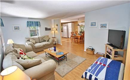Eastham Cape Cod vacation rental - Living room w/ HD TV