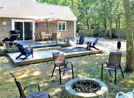 Eastham Cape Cod vacation rental - Relax on the deck. S'mors by the fire pit.