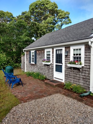 Chatham Cape Cod vacation rental - Entrance to Cottage and outside shower
