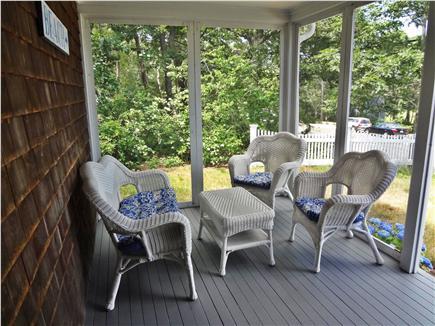 Chatham Cape Cod vacation rental - Porch
