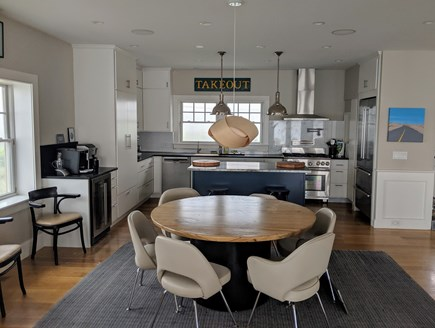 Dennis Village Cape Cod vacation rental - Kitchen and Eating Area