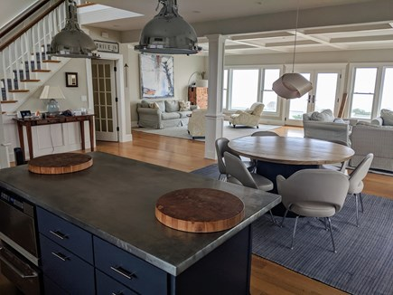 Dennis Village Cape Cod vacation rental - Great Room From Kitchen