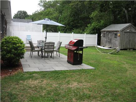 Hyannis Cape Cod vacation rental - PRIVATE Back yard with new patio and new deck