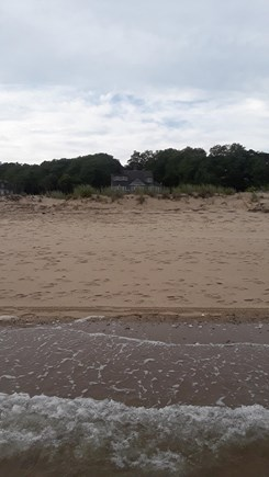 Wellfleet Cape Cod vacation rental - Beach w/ house in background