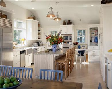 Wellfleet Cape Cod vacation rental - Sunny kitchen dining area