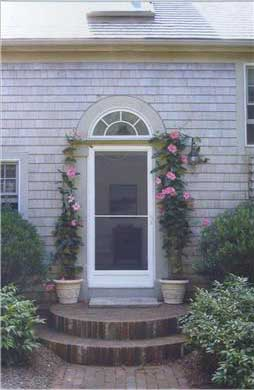 Wellfleet vacation rental home in cape cod ma 02667 on for Cape cod front door