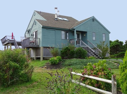 N.Truro Bay Village Cape Cod vacation rental - Contemporary home 300 yds from private beach
