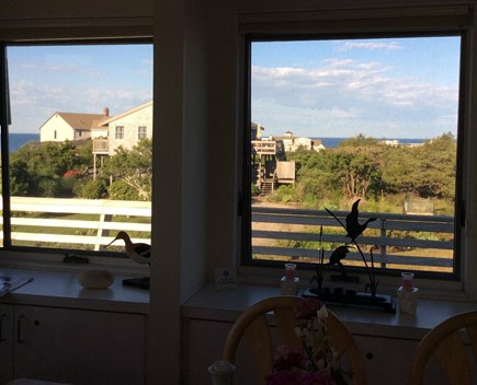 N.Truro Bay Village Cape Cod vacation rental - View from the dining room