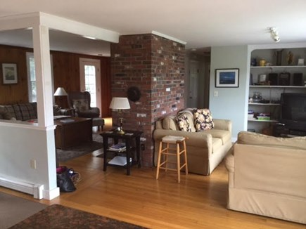 East Falmouth Cape Cod vacation rental - Open Living Room