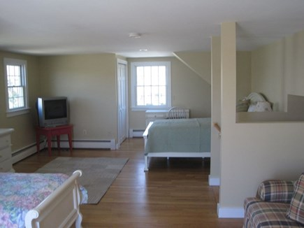 East Falmouth Cape Cod vacation rental - Bedroom with queen, twin and pull-out sofa and private bath