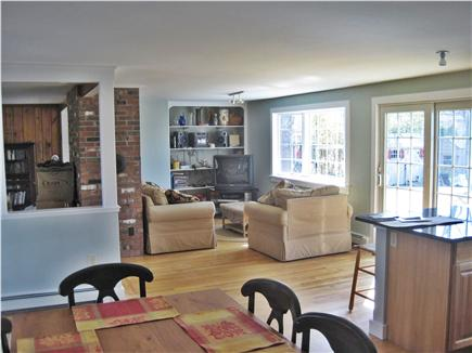 East Falmouth Cape Cod vacation rental - Living room with beautiful views