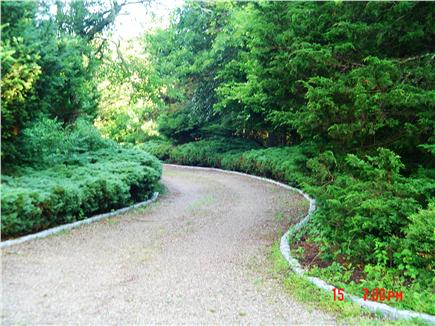 East Falmouth Cape Cod vacation rental - Driveway Entrance