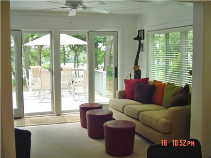 East Falmouth Cape Cod vacation rental - Adult TV Room