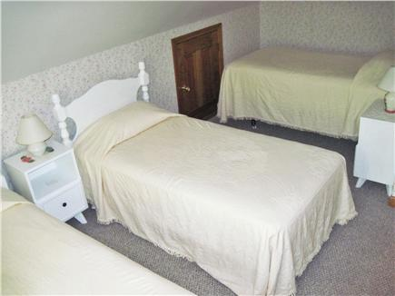 East Orleans Cape Cod vacation rental - 2nd floor bedroom with 3 twin beds