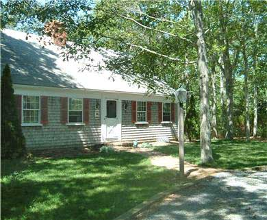 East Orleans Cape Cod vacation rental - Front of house, parking in front and additional parking in rear