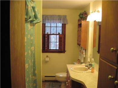 East Orleans Cape Cod vacation rental - 1st floor full bathroom with full size Tub/ Shower