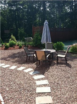 North Falmouth Cape Cod vacation rental - Outside seating area