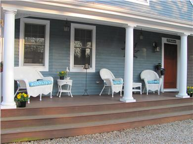 North Falmouth Cape Cod vacation rental - Cozy front porch