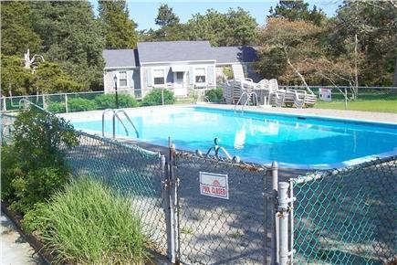 Harwichport, MA Cape Cod vacation rental - Relax by the Pool & Beautiful Hydrangeas