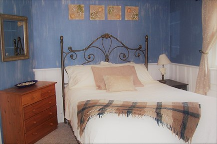 Harwichport, MA Cape Cod vacation rental - Queen bedroom with own bath, opens to back yard, ac