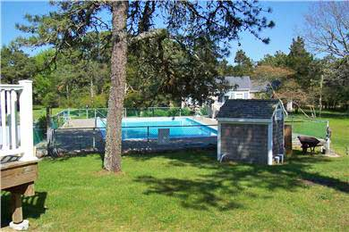 Harwichport, MA Cape Cod vacation rental - Pool and backyard
