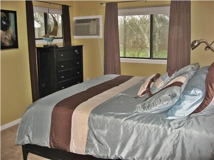 Brewster/ Ocean Edge Resort Cape Cod vacation rental - Watch the New Flat Screen 40'' LCD TV from the Huge, cozy Bed