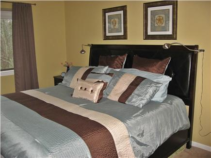 Brewster/ Ocean Edge Cape Cod vacation rental - New King Sized Bed in large Master Bdrm w/ Hotel quality linens