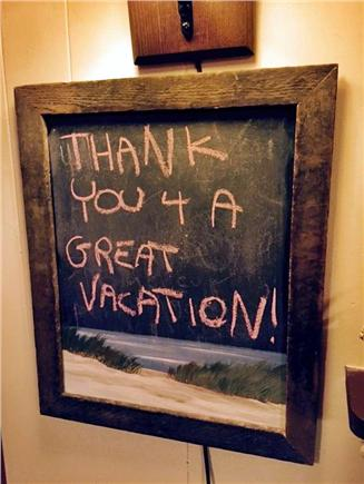 Eastham Cape Cod vacation rental - One guest's sentiments