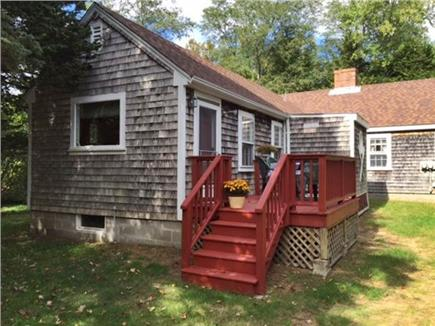 Eastham Cape Cod vacation rental - Rear Deck for Outdoor Dining