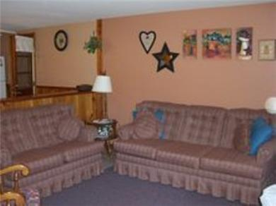 Mashpee, Popponesset Cape Cod vacation rental - Additional View of Living Room with Sleep Sofa