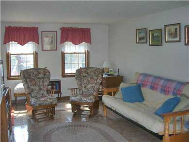 Mashpee, Popponesset Cape Cod vacation rental - Large Family Room with TV and Futon
