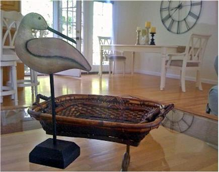 Chatham Cape Cod vacation rental - Morning in the great room... relaxing on the couch