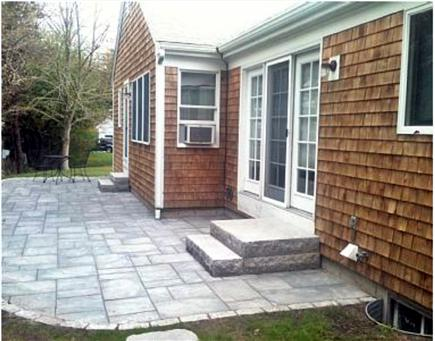 Chatham Cape Cod vacation rental - ... private, new, bluestone patio with granite steps