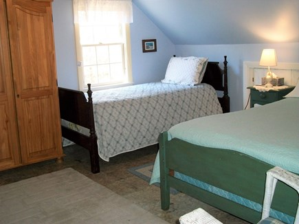 Eastham Cape Cod vacation rental - Bedroom with 2 twins and 1 full, 1st view