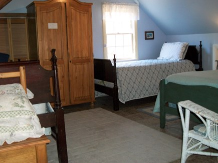 Eastham Cape Cod vacation rental - Bedroom with 2 twins and 1 full